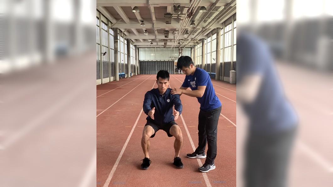 圖/田徑協會提供 「最速男」楊俊瀚傷勢未癒 倫敦鑽石聯賽將缺賽