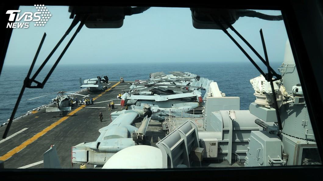 圖/達志影像路透社 美聲稱擊落伊朗無人機 中東情勢再升溫