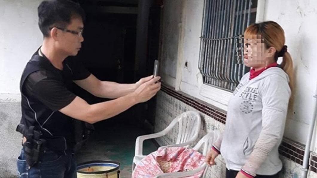 圖/翻攝臉書中埔分局分局長室 50歲大媽愛上小鮮肉 被抓反開心:對越南家人有交代了