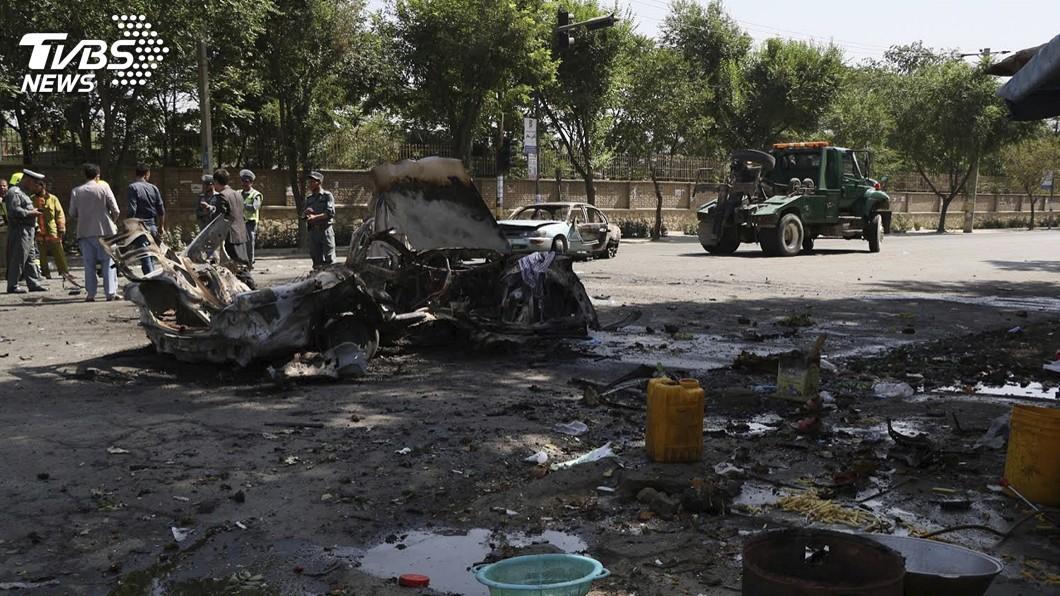 圖/達志影像美聯社 阿富汗喀布爾大學驚傳爆炸 至少6死27傷