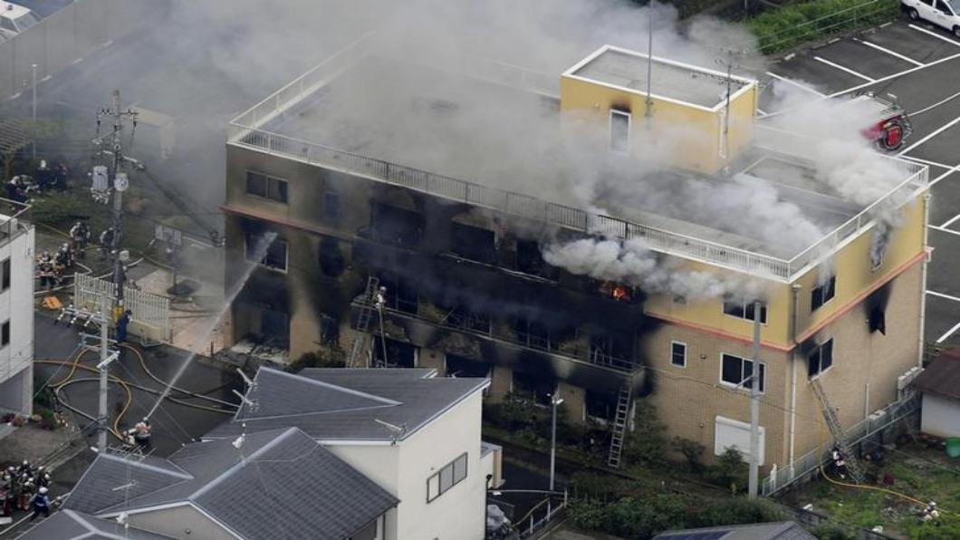 圖/達志影像路透 震驚國際!「京都動畫」33人火劫喪生