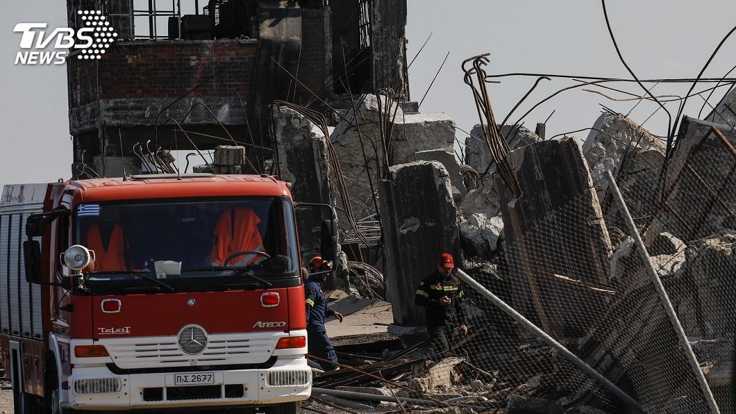 圖/達志影像美聯社 希臘雅典規模5.1地震 瓦礫散落釀至少2輕傷