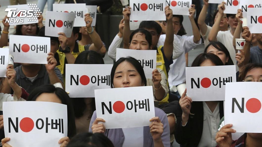 圖/達志影像美聯社 介入日韓衝突? 川普:要我管的事還很多