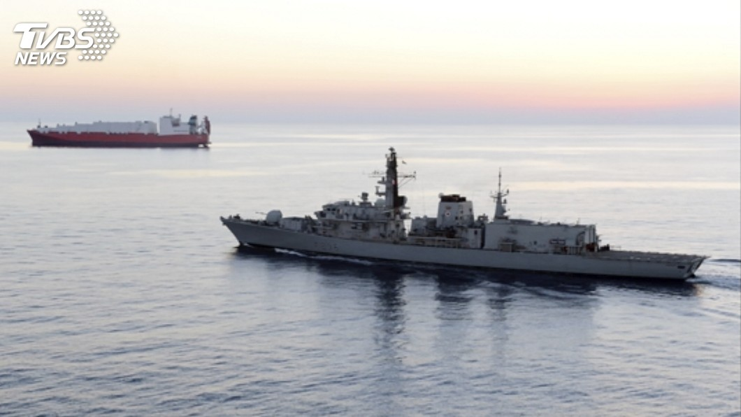 圖/達志影像美聯社 伊朗扣押英國籍油輪 荷姆茲海峽情勢升溫