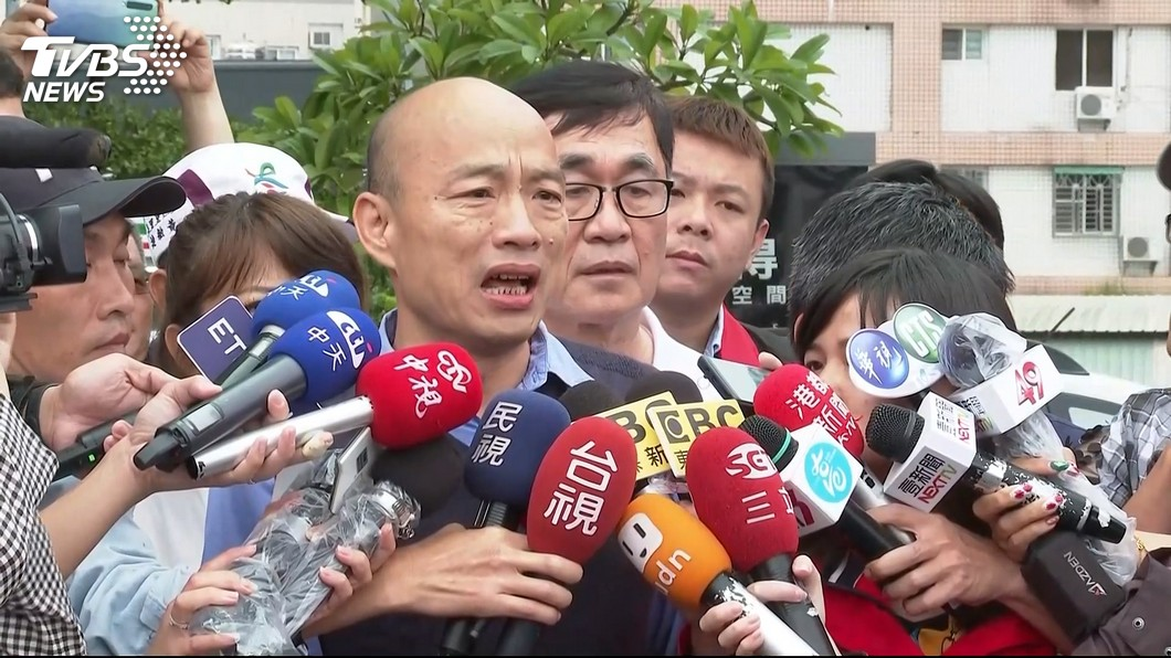 高雄市長韓國瑜。圖/TVBS資料畫面 徐永明轟「無能神隱」!他提5問回嗆:欠韓國瑜一個道歉