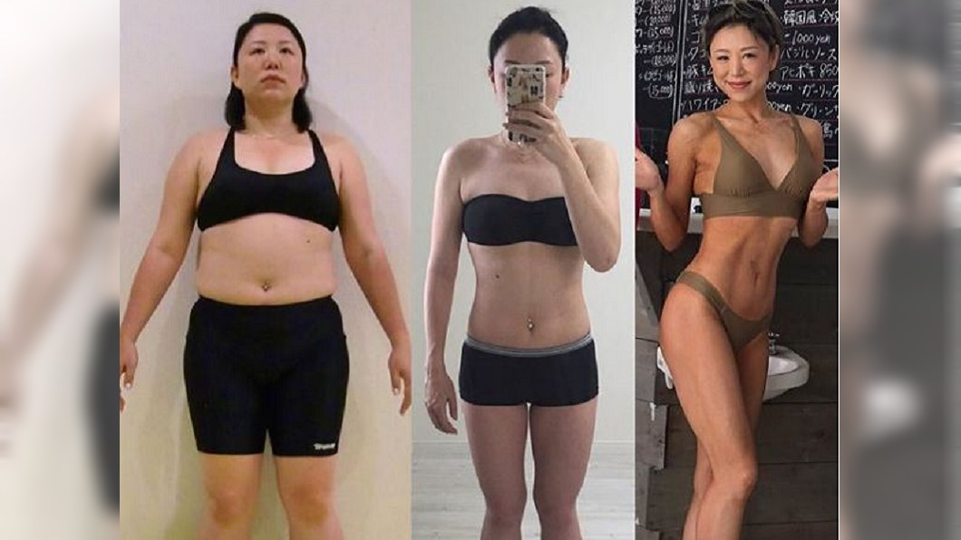日本一名健美冠軍分享自己從94公斤胖妹瘦身下來的心路歷程。(圖/翻攝自IG) 被母親罵「死肥豬」 94公斤胖妹瘦身成健美冠軍