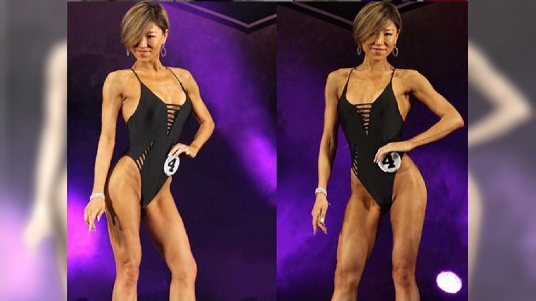 她整整瘦了42公斤。(圖/翻攝自IG)