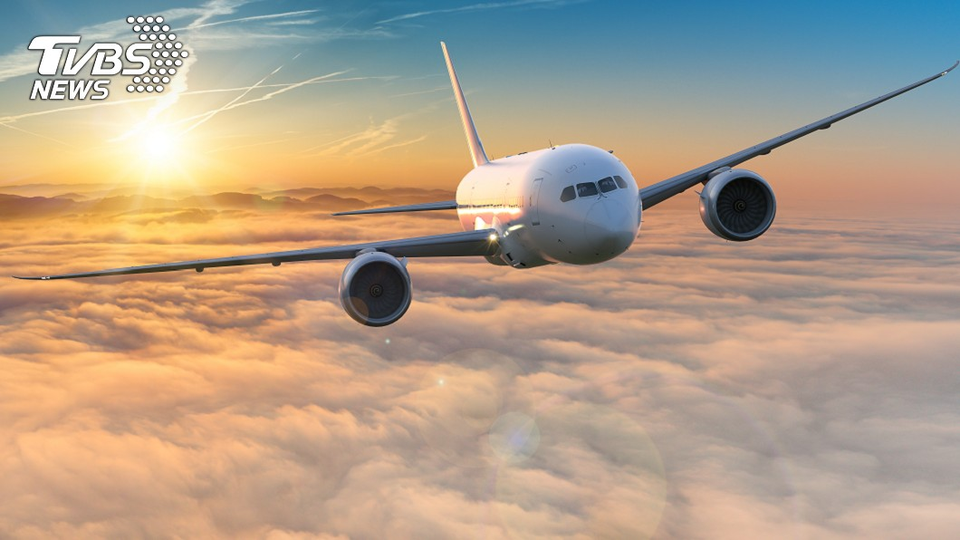 示意圖/TVBS 想把空姐 男謊稱飛機有炸彈「不讓妳飛」