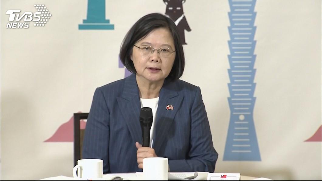 圖/TVBS 國安官員挾9800條免稅菸 總統蔡英文最新回應