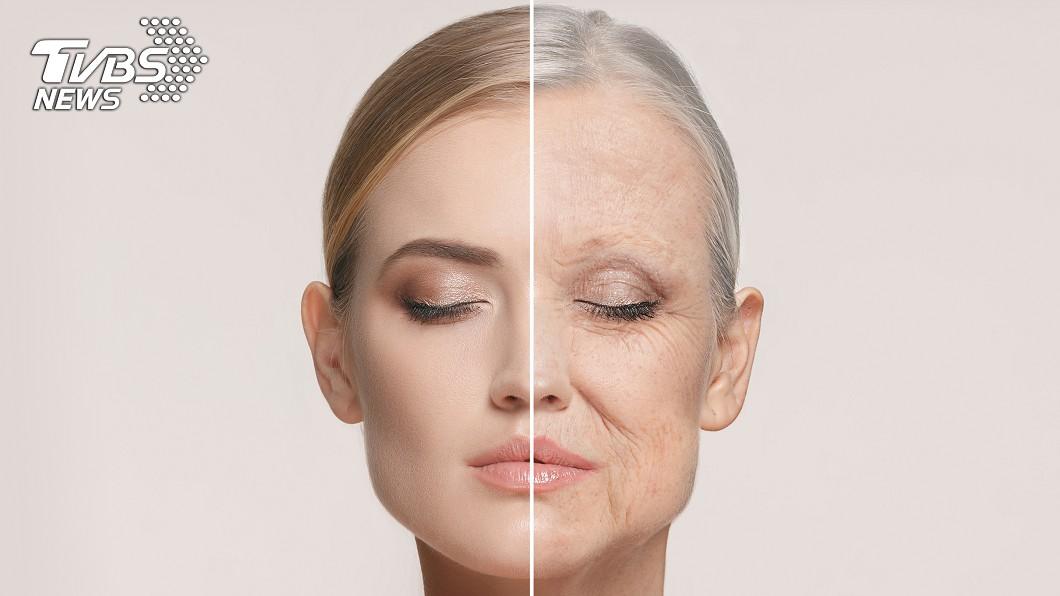 「FaceApp」可以讓人看到「老態」,其實要避免皺紋浮現、眼尾下垂等問題,都是有撇步的。圖/TVBS 不被老化app打倒的「凍齡」關鍵 你都做到了嗎?