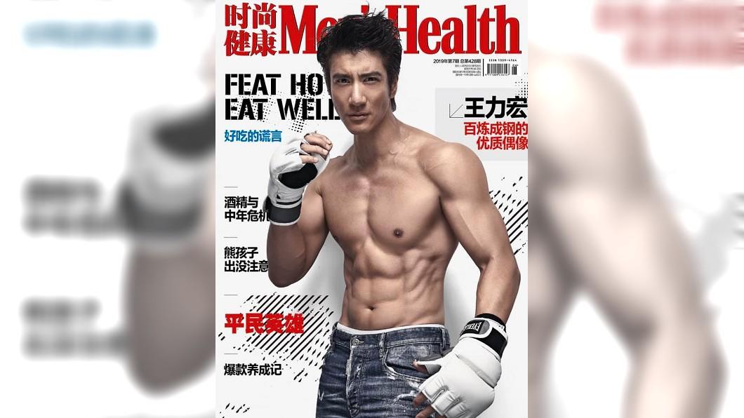不老男神王力宏,精實的肌肉讓粉絲不敢相信他已邁入不惑之年。圖/翻攝自王力宏臉書