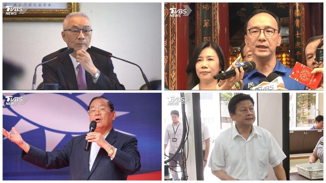 藍營內部看好明年立委席次有望過半,這幾位也被點名替黨內角逐立法院長。(合成圖/TVBS) 藍看好明年立委有望過半 「這4人」被點名爭立院龍頭