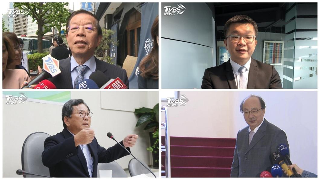 至於民進黨方面,現任立院院長蘇嘉全表態不爭取下屆不分區後,黨內幾位要角傳出有意爭取立院龍頭一位。(合成圖/TVBS)