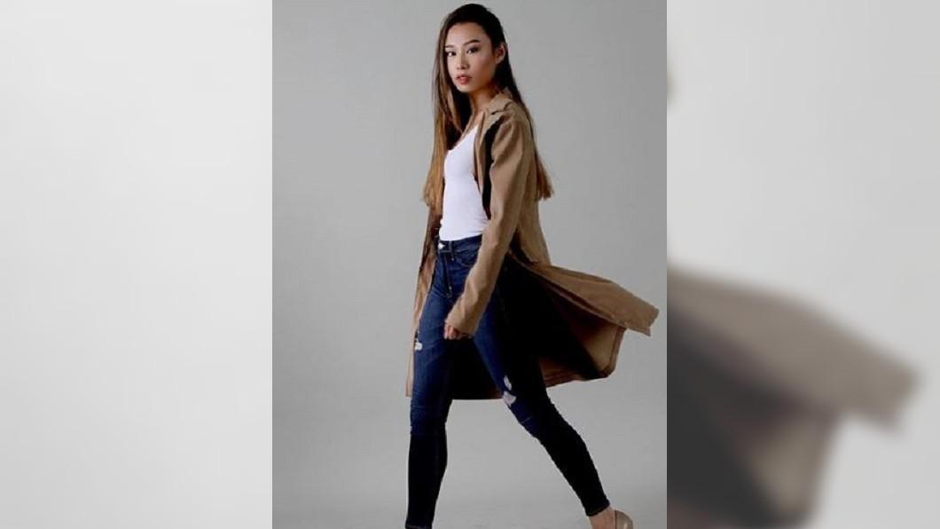 圖/翻攝自katzhux Instagram 公開批評非裔和穆斯林 華裔選美佳麗遭奪后冠