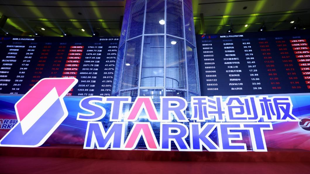 圖/達志影像路透 科創板首日 25支新股平均漲幅140%