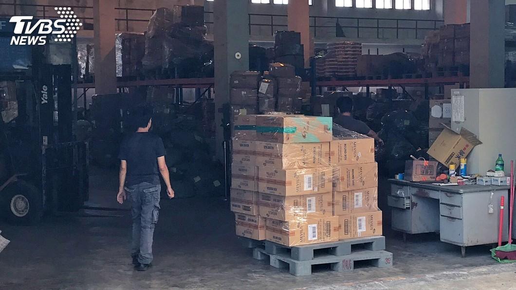 圖/中央社(民眾提供) 國安局人員涉走私菸品 蘇貞昌:須檢討防止咎責