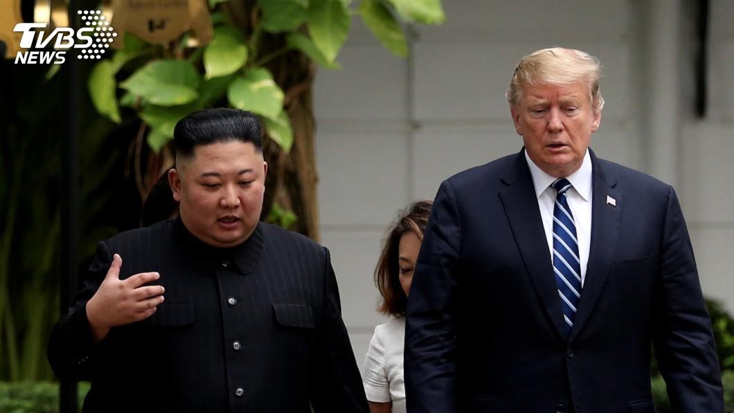 圖/達志影像路透社 川普稱與北韓關係良好 但何時重啟非核化談判未定