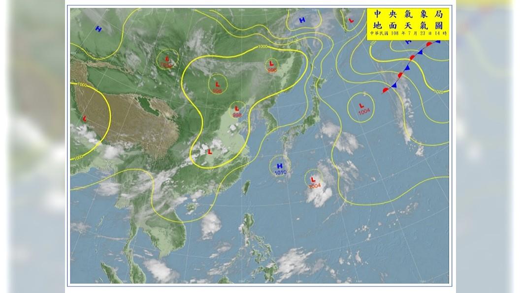 圖/氣象局 高溫午後雷陣雨到這天 準備迎颱風旺季