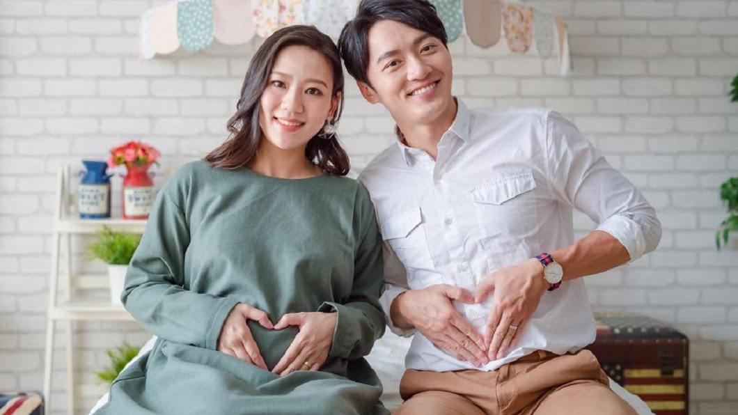 馬俊麟和妻子梁敏婷。(圖/翻攝自馬俊麟臉書)