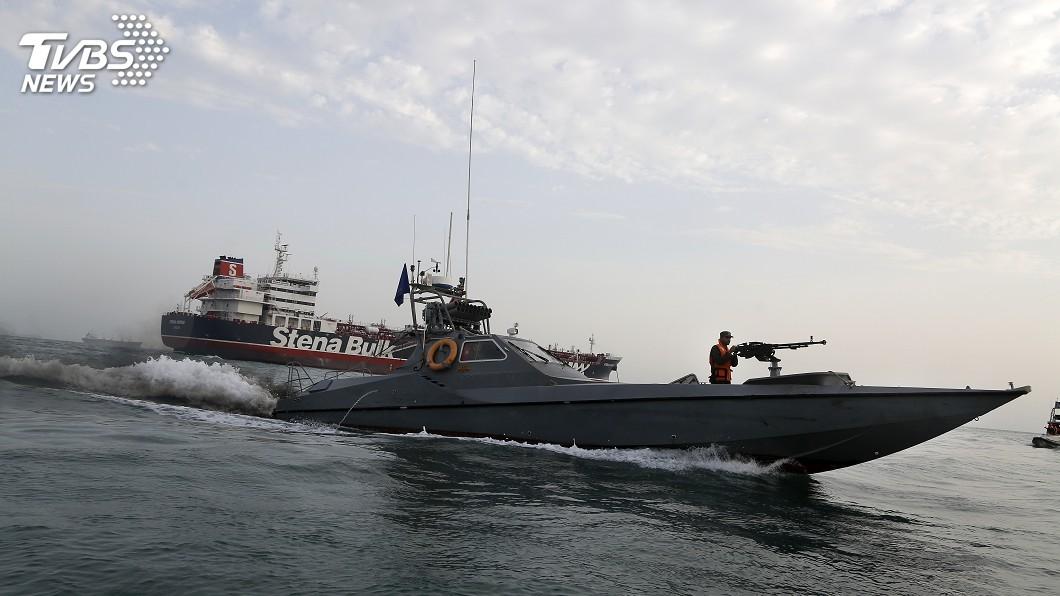圖/達志影像美聯社 給新英相強生下馬威 伊朗誓捍衛波灣海域