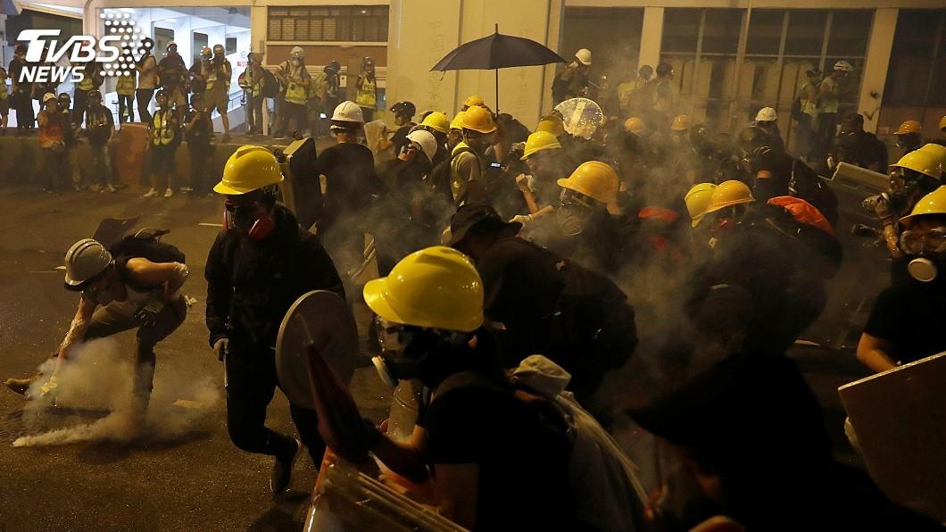 圖/達志影像路透社 大小示威不斷 部分國家對香港發出旅遊警示