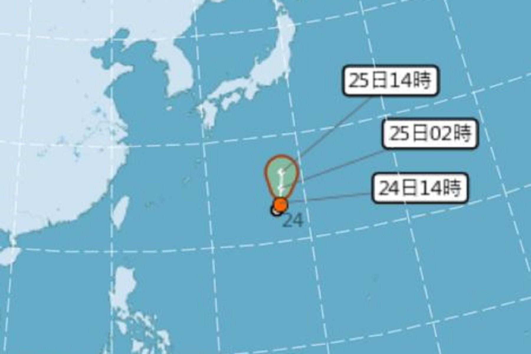 圖/中央氣象局 「百合颱風」最快今生成 週末恐直撲東京