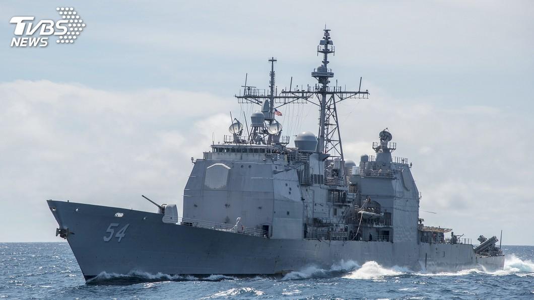 圖/達志影像美聯社 展現對印太承諾 美軍:已派軍艦通過台灣海峽