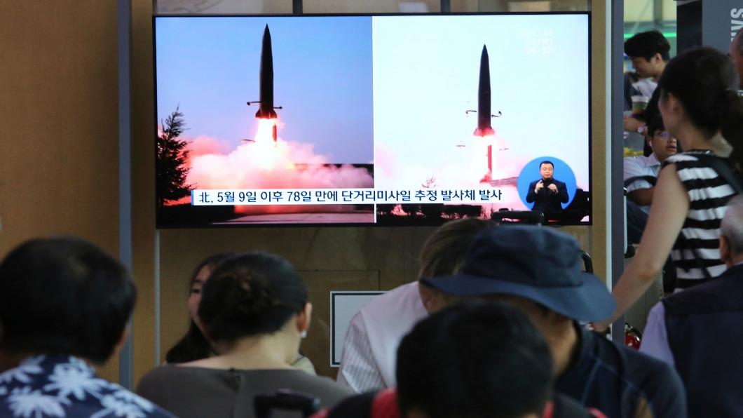 圖/達志影像美聯社 北韓一周兩次秀武力 疑射新飛彈施壓美國