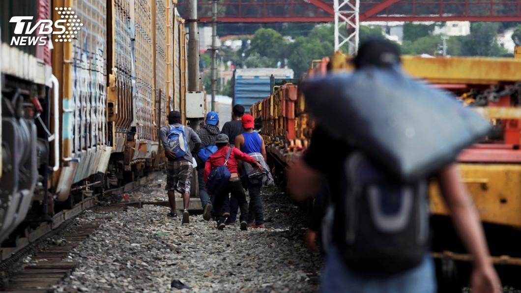 圖/達志影像路透社 川普阻取道墨國移民尋求庇護 聯邦法官頒禁制令