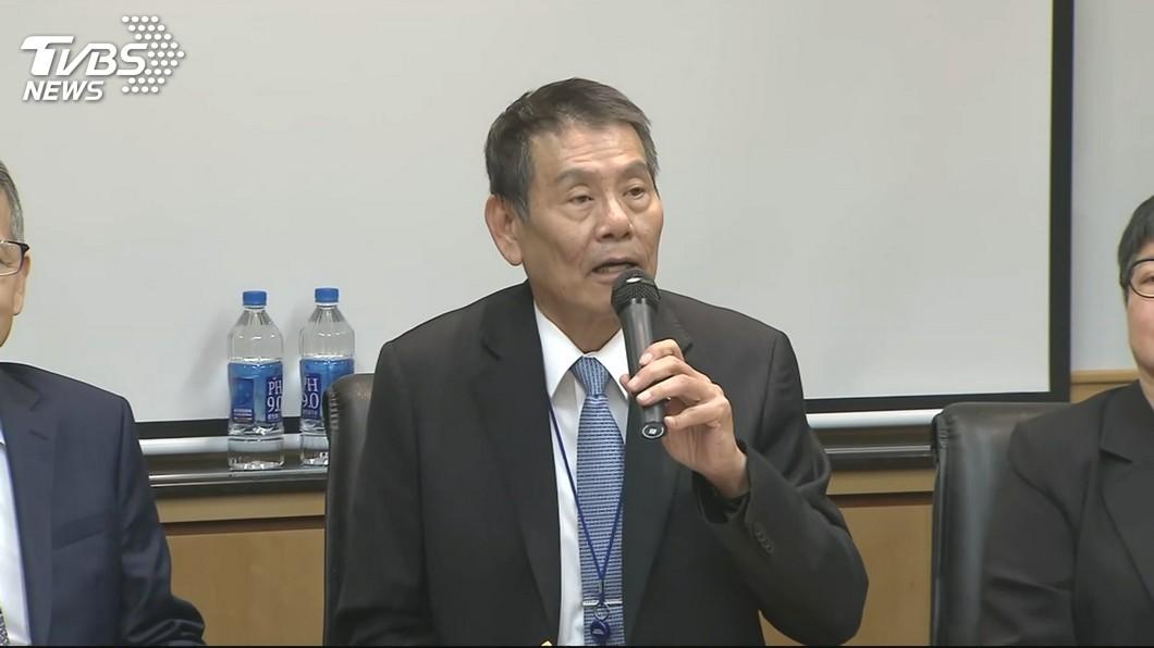 華航董事長謝世謙。圖/TVBS 華航公布14次專機負責人名單 羅雅美、邱彰信調離原職