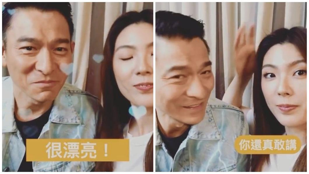 理科太太日前專訪天王級男神劉德華。(圖/翻攝自IG) 理科太太問「我像陳慧琳嗎?」 華仔回5字撩妹讓她嗨了