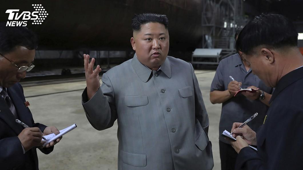 圖/達志影像美聯社 北韓沉寂78天再射飛彈 金正恩武嚇有目的