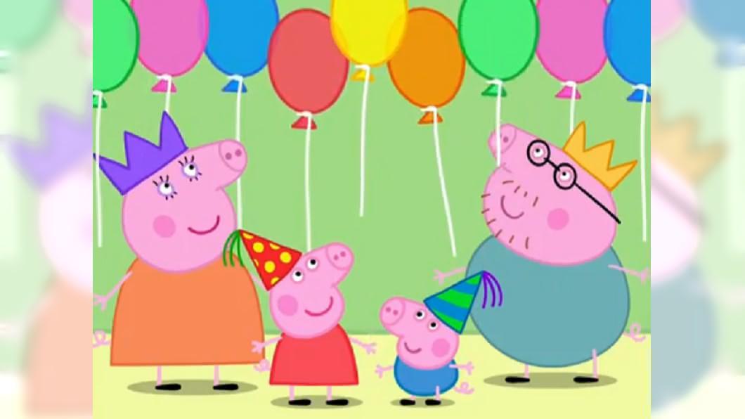 佩佩豬一家。圖/翻攝自粉紅豬小妹IG 佩佩豬不是豬「小」妹!「真實身高」超衝擊