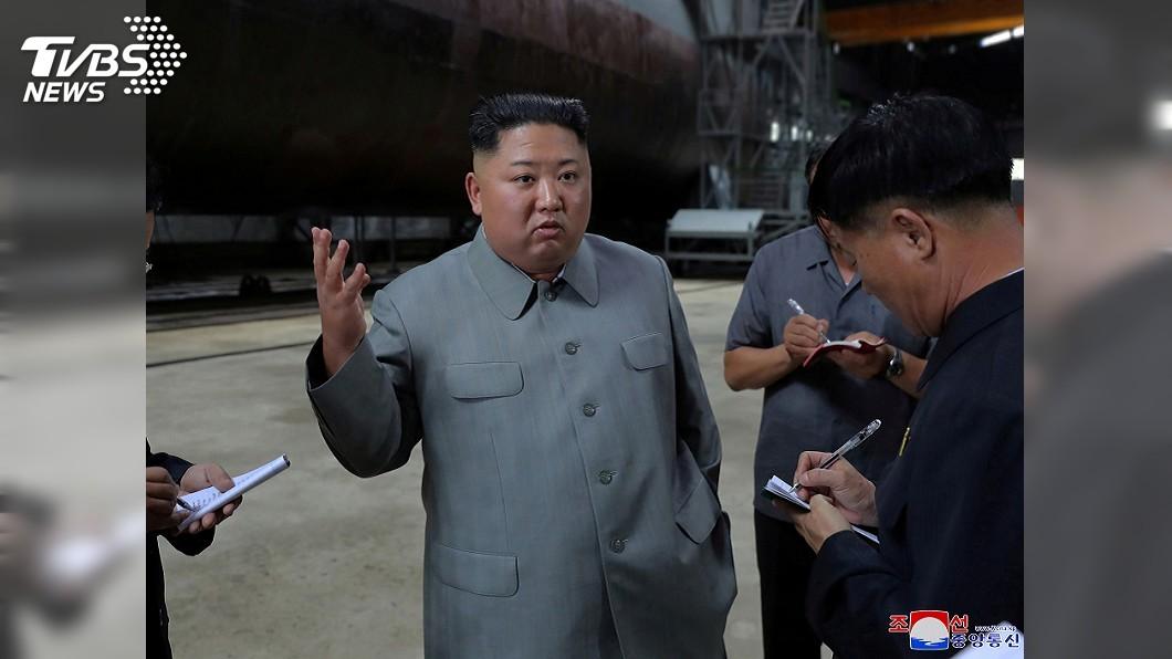 圖/達志影像路透社 北韓試射新武器 金正恩稱保衛國家安全之舉