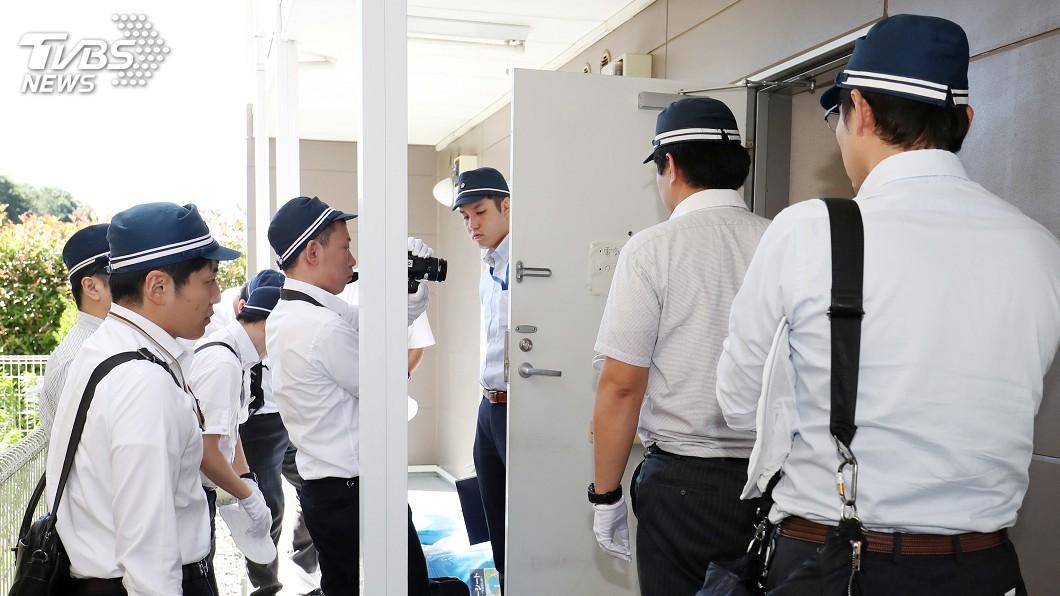 圖/達志影像美聯社 京都動畫縱火案 日本警方搜索犯嫌住處