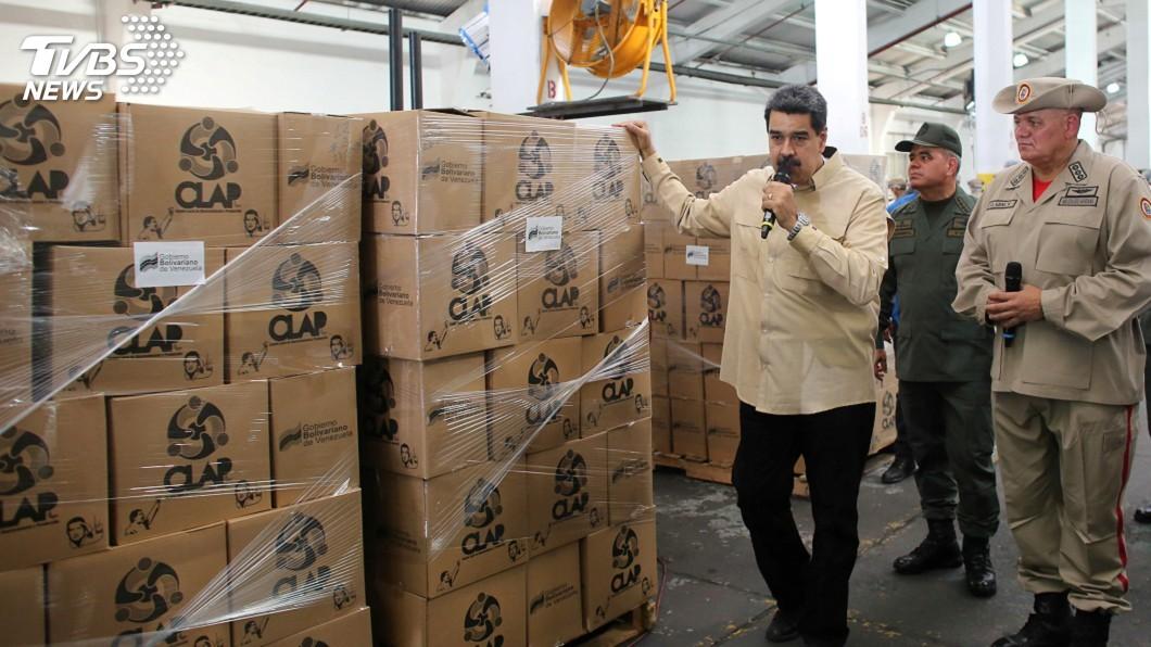 圖/達志影像路透社 美再祭制裁 指委內瑞拉緊急糧食計畫變相貪腐