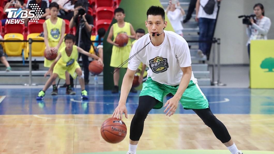 圖/中央社 連9年返台辦籃球訓練營 林書豪:有夢就要抓緊機會