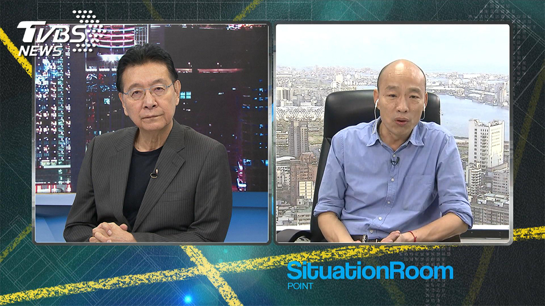 TVBS《少康戰情室》專訪高雄市長韓國瑜。(圖/TVBS)