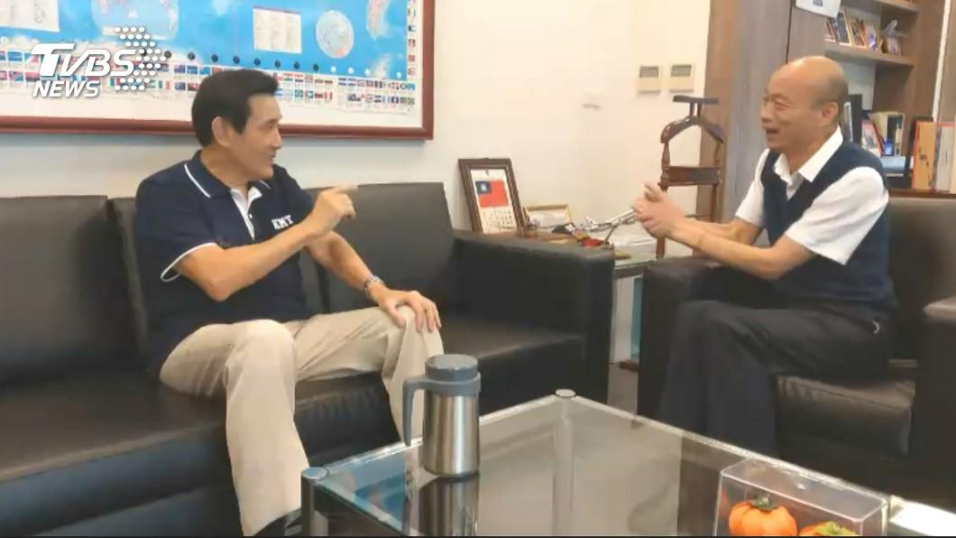 圖/TVBS 被問「馬英九希望韓當選嗎?」 黃暐瀚秒笑回這2字