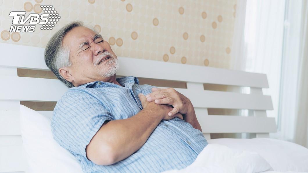 圖/TVBS示意圖 阿伯突胸痛命危!醫問診傻眼 竟是老婆誤下殺手