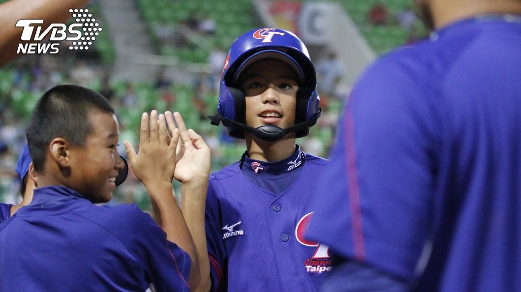 圖/中華民國棒球協會提供 江宗駿開轟黃天賜5打點 U12少棒中華勝南非