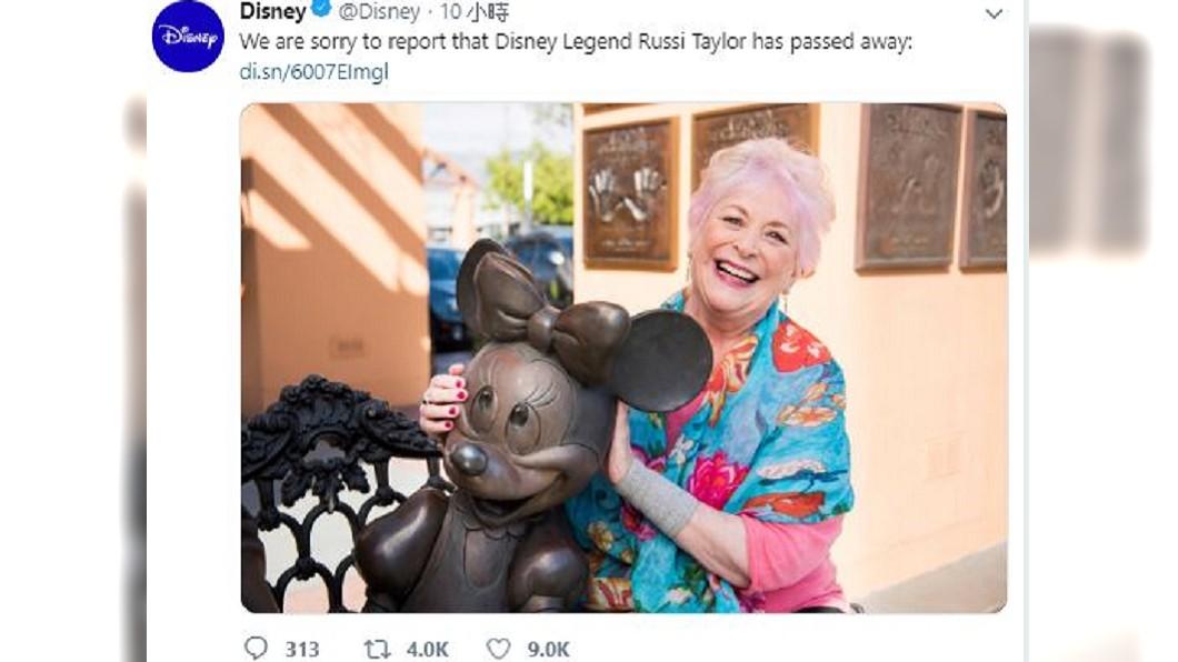 圖/翻攝自Disney 推特
