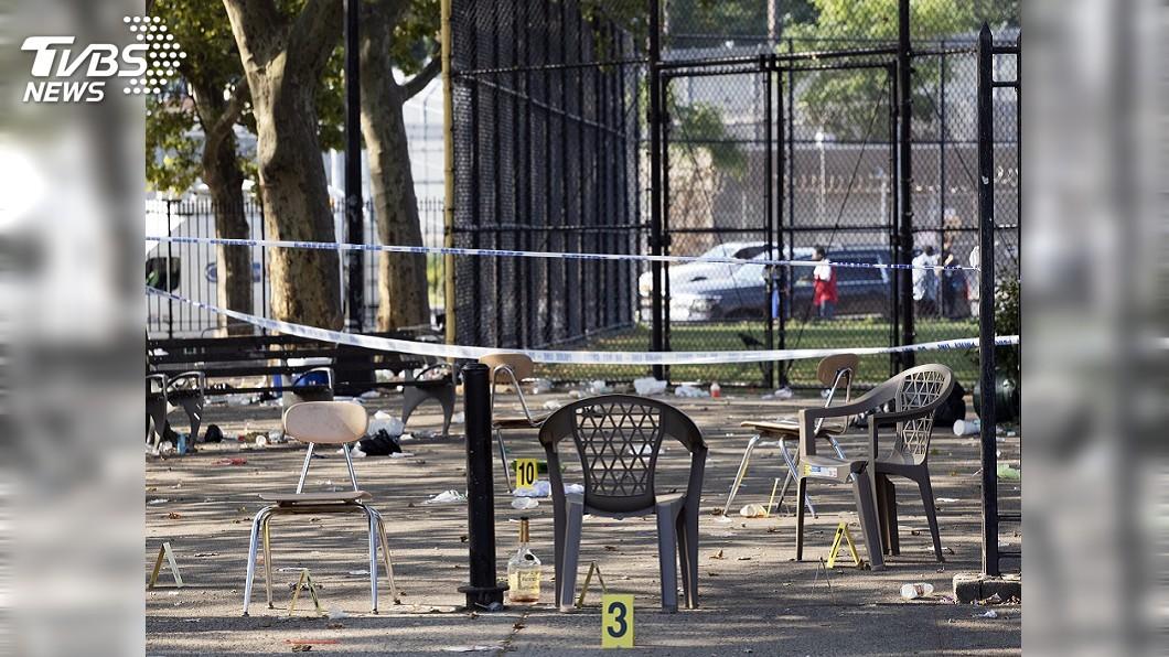 圖/達志影像美聯社 美國週末不平靜 東西兩岸皆傳槍擊案