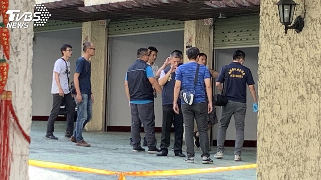 圖/中央社 高雄警南投緝毒 警匪槍戰1人中彈起出毒品