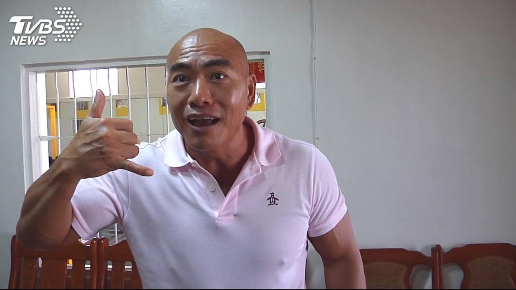 林志成再度放話要挑戰館長。 圖/TVBS