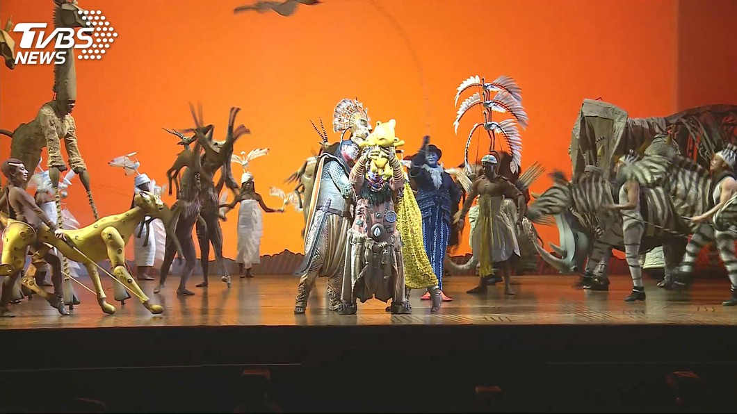 圖/TVBS 音樂劇《獅子王》挹注 寬宏7月營收月增逾1403%