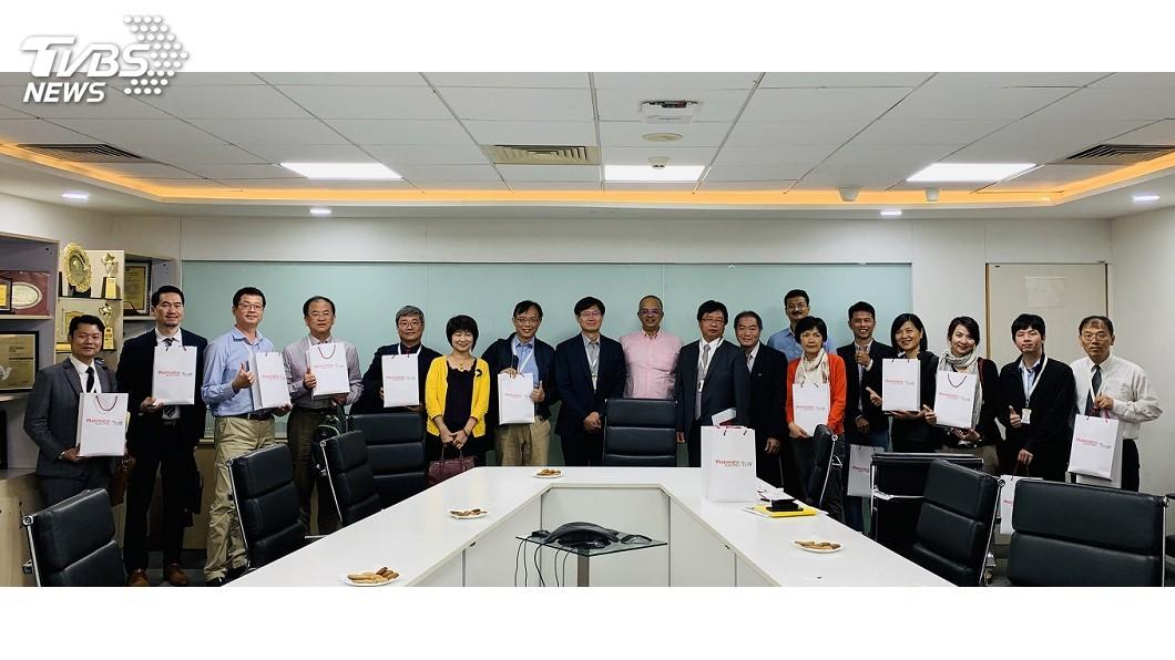 圖/中央社 科技部訪印度電動車業者 印商驚艷台技術