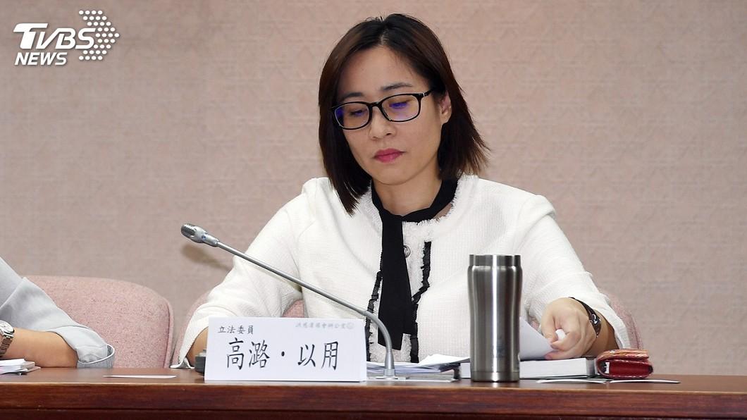 圖/中央社 時力下午啟動紀律調查 若違法屬實將請高潞辭職