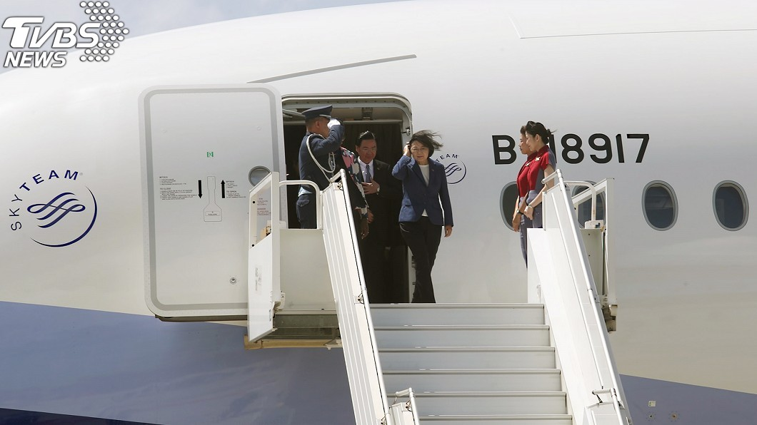 圖/中央社 全機僅蔡英文沒買免稅品!華航員工親揭「總統專機」內幕
