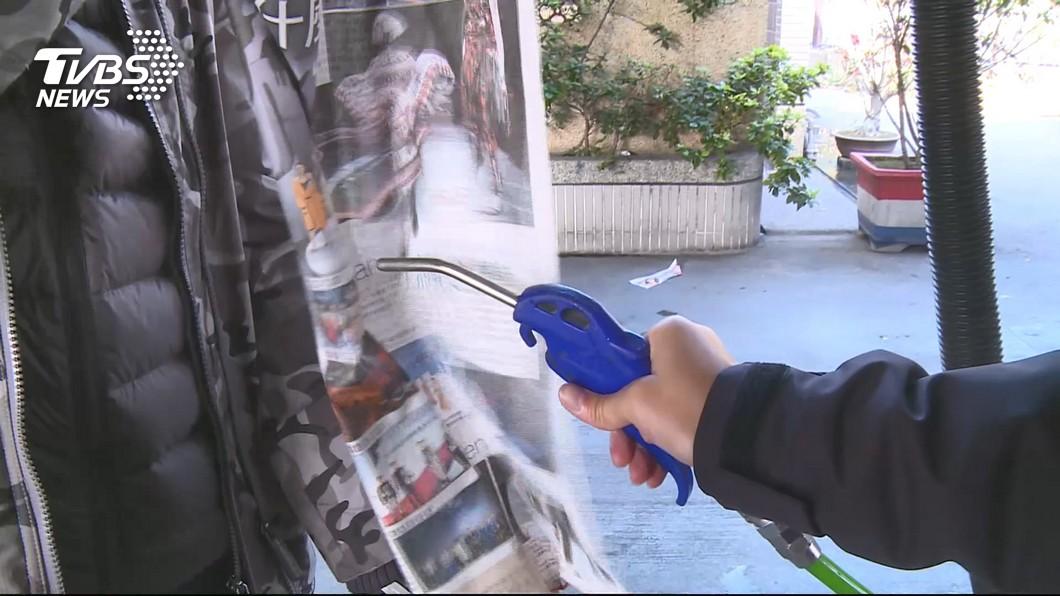 空氣噴槍具有危險性,千萬別隨便拿來亂玩造成憾事。(示意圖/TVBS) 工廠內玩耍…同伴拿空氣噴槍 6歲男童被灌腸慘死